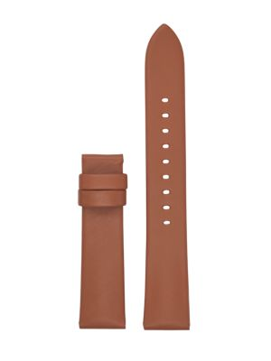 Runway Luggage Leather Strap in Brown