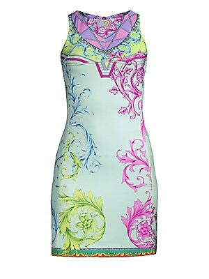 d512bd23d69 Versace Collection - Cindy Ferris Printed Sheath Dress