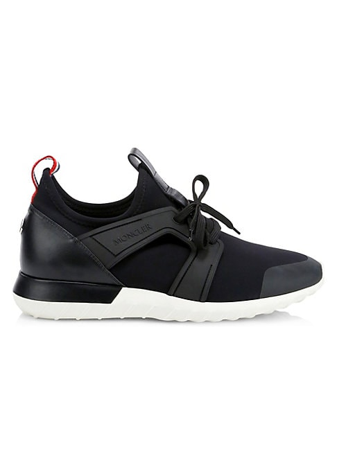 Image of Sneakers are crafted in a mixed media design. Leather, polyester, elastane, elastodiene, polyamide and nylon upper. Round toe. Lace-up vamp. Polyamide, nylon and elastane lining. Elastodiene sole. Made in Italy.