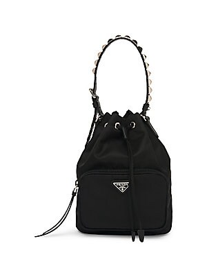 d1cc239682a5 uk prada prada nylon mini backpack brand rucksack black 6cbcc ece24  shop  prada nylon bucket bag with studding 8b90a 1fff2
