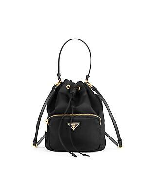 80497626e07d9b Prada - Nylon Bucket Bag - saks.com