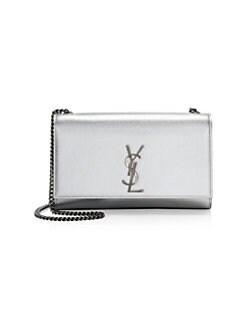 59eb5eea69740 Saint Laurent. Medium Kate Metallic Crossbody Bag