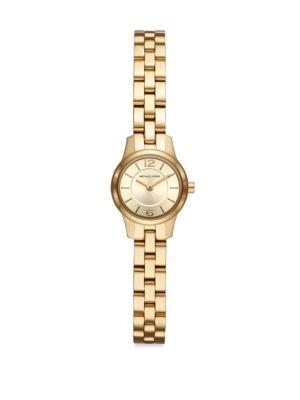 Petite Runway Stainless Steel Bracelet Watch by Michael Kors