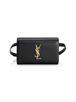7ff07791bee2 Saint Laurent. Small Kate Embellished Crossbody Bag.  2390.00 · Kate  Leather Belt Bag BLACK. QUICK VIEW. Product image