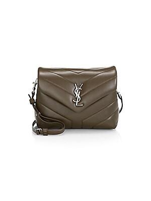 6c0e9555e92 Saint Laurent - Small Lou Lou Leather Chain Shoulder Bag - saks.com