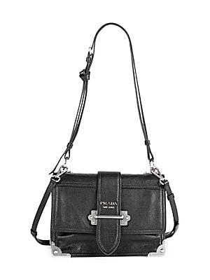 Prada - Large Soft Cahier Shoulder Bag c7074dd261