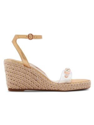 Dina Gem Mid Espadrille Platform Wedge Sandals by Sophia Webster
