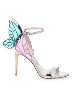 a3599281c455 QUICK VIEW. Sophia Webster. Chiara Metallic Slingback Sandals