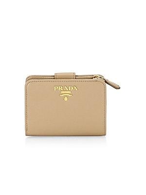 228a1ad824f5 Prada - Small Daino Color Tab Wallet