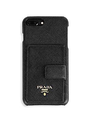 810f3164524b Prada - Saffiano iPhone 7 Plus 8 Plus Phone Cover - saks.com