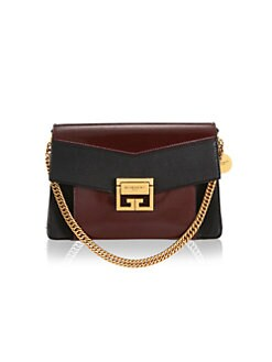 899bb346258e QUICK VIEW. Givenchy. Small Patent Leather GV3 Crossbody Bag