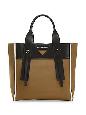 047716e0b62e3b Prada - Saffiano Leather Camera Bag - saks.com