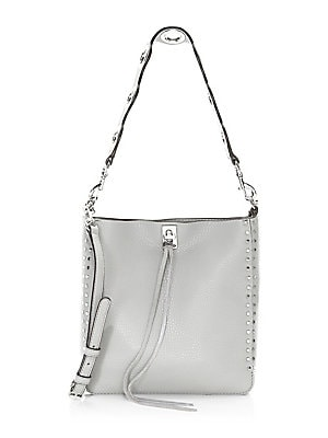 b9cc74cd7 Rebecca Minkoff - Small Darren Pebbled Leather Feed Bag - saks.com