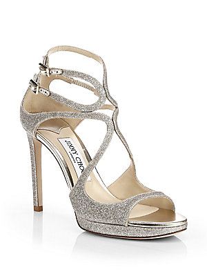 1cc5951f6a2 Jimmy Choo - Lang Strappy Patent Leather Sandals - saks.com