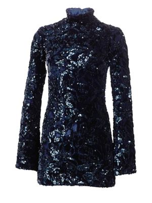 Rhapsody Sequin Mini Dress by Alexis
