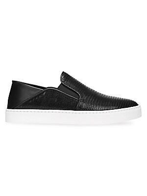 917d0e0a711 Vince - Garvey Leather Sneakers - saks.com