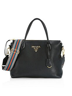 306f44e33c43 QUICK VIEW. Prada. Large Leather Shoulder Bag