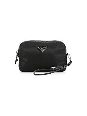 ed62c1391fd9 Prada - Vela Cosmetic Case - saks.com