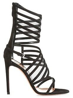 2744557ed Heels. Alaïa - Strappy Wrap Ankle High Heel Sandals