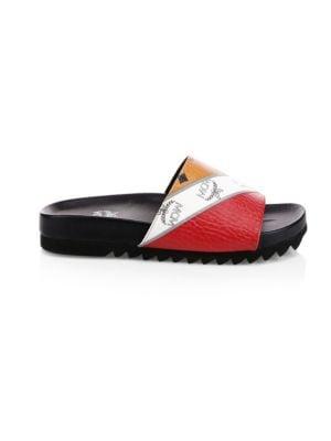 b37676f44cb6 Versace - Medusa Cardinal Slide Sandals - saks.com
