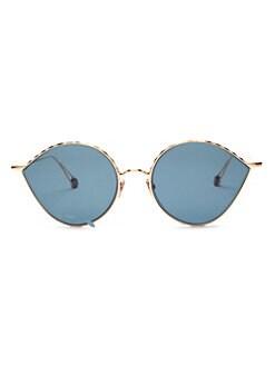 8bd4135a3b9b Round & Oval Sunglasses For Women | Saks.com