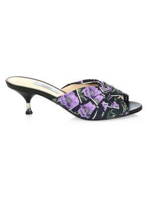 29fdaf90d25f Prada - Raffia Espadrille Wedge Sandals - saks.com