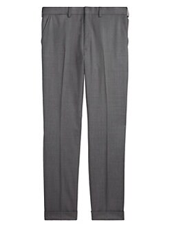 26fd3af97 Greg Flat-Front Wool Pants GREY. QUICK VIEW. Product image