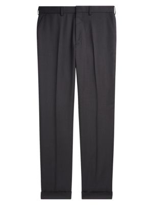 Ralph Lauren Purple Label Greg Flat Front Wool Pants