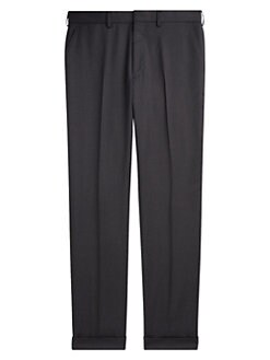 c509af830 Greg Flat-Front Wool Pants BLUE. QUICK VIEW. Product image