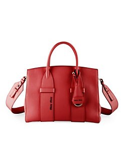 a3af7341b2a3 Medium Madras Leather Satchel RED. QUICK VIEW. Product image