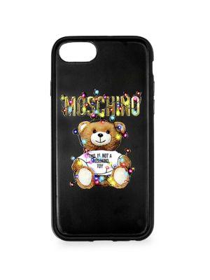 Logo Teddy Iphone 8 Case in Black