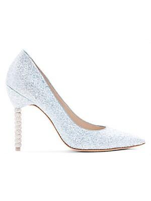 cf24b641677 Sophia Webster - Coco Crystal Heel Glitter Pumps - saks.com