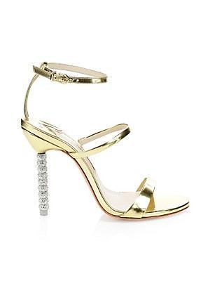 abaaaa0cc41 Sophia Webster - Evangeline Winged Leather Sandals - saks.com