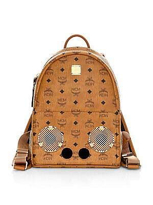 8cc5003ed99b29 MCM - Mini Stark Visetos Side Stud Backpack - saks.com