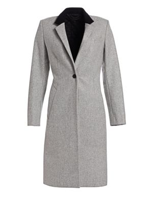 Daine Virgin Wool Blend Trench Coat by Rag & Bone