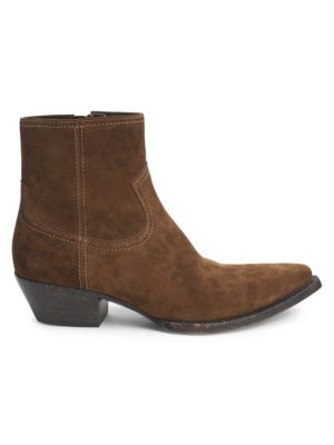 Lukas Suede Booties by Saint Laurent