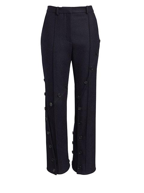 Slash Kick-Flare Pants