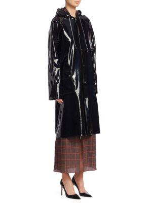 Rokh Hooded Rain Jacket