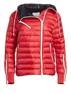 787b6b3a1384 Moncler. Stockholm Hooded Puffer Jacket