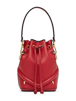 376fdb99261 Fendi - Mon Tresor Micro Studded Bucket Bag - saks.com