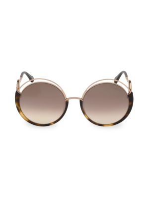 58 Mm Round Sunglasses by Roberto Cavalli