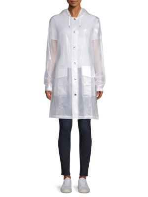 Rains LTD Mirage Capsule Hooded Translucent Coat