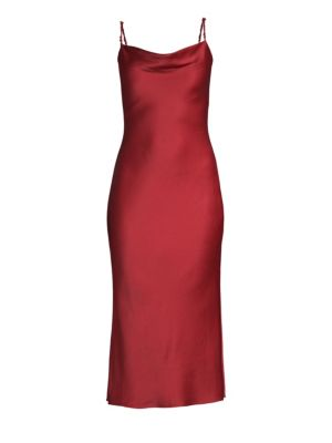 Crepe Back Silk Bias Cut Slip Dress by Jason Wu