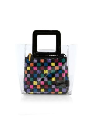 Mini Shirley Beaded Bag by Staud