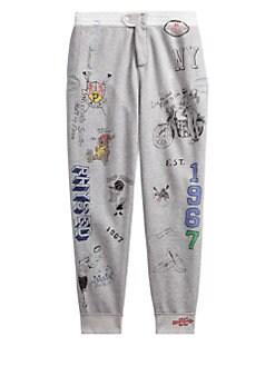 ea53fc670d4d8b QUICK VIEW. Polo Ralph Lauren. Vintage Fleece Printed Sweat Pants