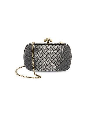 58d42b6968d18 Bottega Veneta - Small Pillow Intrecciato Leather Crossbody Bag ...