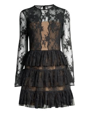 Riviera Lace Fit Flare Dress