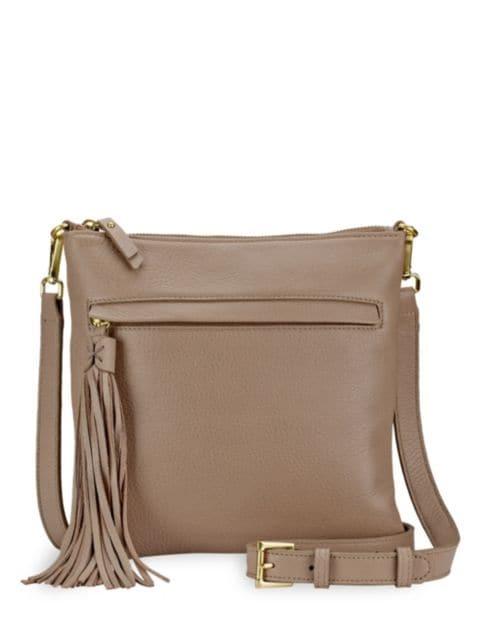 Gigi New York Scout Leather Crossbody Bag   SaksFifthAvenue