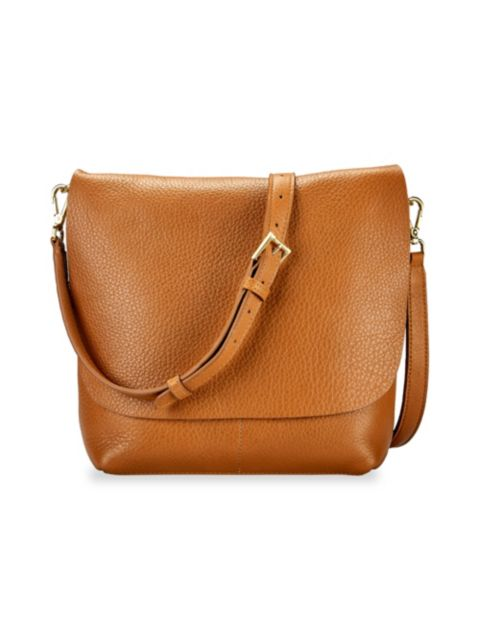 Gigi New York Andi Leather Crossbody Bag | SaksFifthAvenue