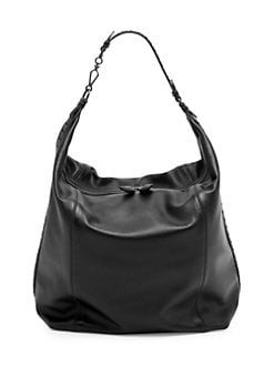 cf3d10ecf8 Large Leather Hobo Bag PINK. QUICK VIEW. Product image